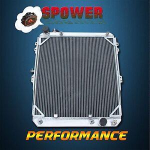 Aluminum Radiator For Toyota Hilux Surf 3.0 Turbo KZN130 1KZ-TE 93-96 AT/MT 3Row