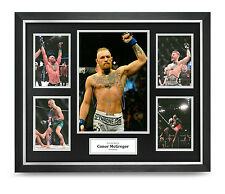 Conor McGregor Signed Photo Large Framed Display UFC Autograph Memorabilia COA