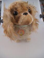 Steiff Hund Peky 4120/30  30cm 1968 bis 1976 komplett mit KFS (615)
