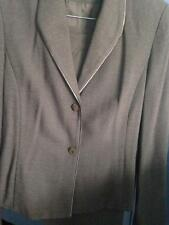 2PC Gray Gianni Pant Suit Size 6