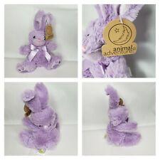 Animal Adventure Daisy Bunny Plush Violet Purple Cuddle Bunny Children Gift 3+