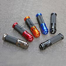 """7/8"""" Handle Bar Hand Grips For Honda CB CBR NSR RVF RVT VFR VTR Motorcycle"""