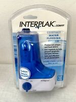 Interplak by Conair Compact Dental Water Jet Pick Flossing System Cordless New