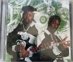 Paid in Full [Platinum Edition] by Eric B. & Rakim  Used 2CD, 1998 Island