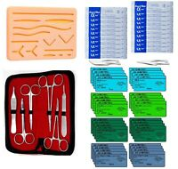 60 PCS Practice Suture Removal Training Kit for Medical and Veterinary Student
