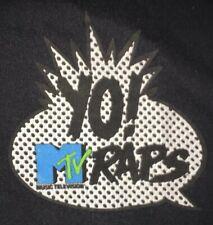 Yo! MTV Raps T Shirt Vintage Rap Tee Single Stitch OG XL Rare VTG Yo 80's 90's