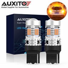 2x AUXITO 7440 Canbus 26SMD LED Turn Signal Indicator Light Bulb 2200K Yellow