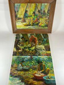 Impressionist Paintings Filipino Artists Albryant & Ramilito Subang Philippines