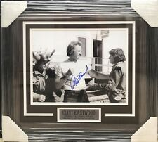 PSA/DNA Dirty Harry CLINT EASTWOOD  Autographed Signed FRAMED 11x14 Photo