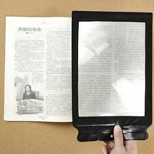 First-rate A4  Giant Assisted Reading Magnifying Glass Sheet 3X Magnifier HFC