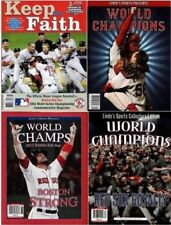 NEW Lot of 4 Boston Red Sox World Series Champion Commemorative 2004-2018 Lindys