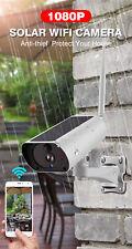 Wanscam K55 1080P 2MP Camera Remote Night Vision 2-Way Audio Solar Camcorder Q