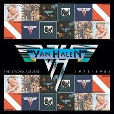 VAN HALEN - THE STUDIO ALBUMS 1978-1984 (NEW CD)