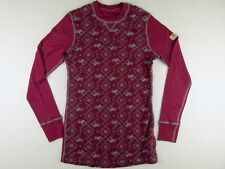 TL80 JANUS Norway 100% wool base layer shirt top size L wmns, hardly worn!