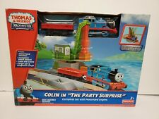 """🚂Fisher-Price Thomas and Friends Trackmaster Colin In """"The Party Surprise"""" Set"""