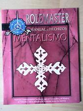 Libro de Rol,Rolemaster,Manual de Hechizo,Mentalismo,La Factoria