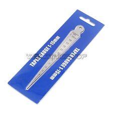 Welding Taper Gauge slot gap width gap hole size gage 2.3mm thickness