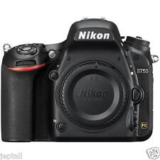 "Nikon D750 Body 24.3mp 3.2"" DSLR Digital Camera Brand New Jeptall D20"