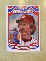 1983 DONRUSS DIAMOND KINGS MIKE SCHMIDT #23 PHILADELPHIA PHILLIES