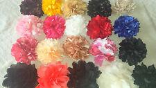 Joblot 20 pcs  Faux silk Flower Hairclip/broach NEW wholesale