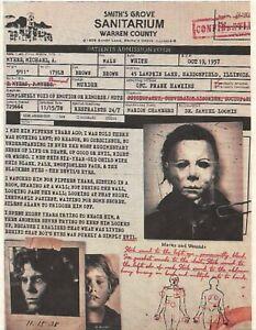 1978 Halloween Smiths Grove Sanitarium Michael Myers > Haddonfield Illinois 🔪