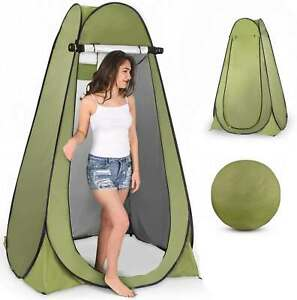 Portable Pop Up Tent Outdoor Camping Toilet Shower Beach Changing Privacy Room