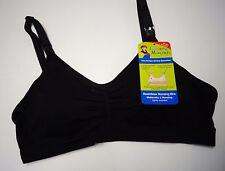 Women's Nursing Bra (size Large) (Loving Moments) New (Black Padded Cups)