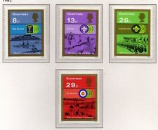 Guernsey 1982 75th Anniv of Boy Scout Movement SG 259-262 MNH