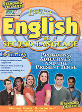 ESL 1 Pronouns Adjectives And The Present Tense (DVD, 2004) *Library Copy*