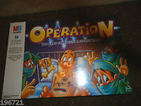 OPERATION BOARD GAME RARE 1999 EDITION BRAND NEW FACTORY SEALED