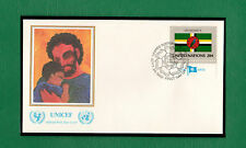 SCOTT # 380 Dominica Flag United States U.N. Flag Series Stamp UNICEF Mint FDC