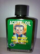 MYSTICAL / SPIRITUAL OIL (ACEITE) FOR SPELLS & ANOINTING 1/2 OZ MR. MONEY