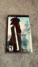 Crisis Core: Final Fantasy 7 (Sony Psp) Complete With Manual. Tested!