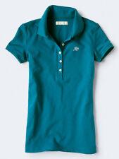 NWT AEROPOSTALE Aero Womens A87 Pique Polo Shirt Uniform XS S M L XL XXL