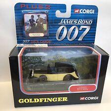 CORGI James Bond 007 TY95601 GOLDFINGER Rolls Royce in Scatola