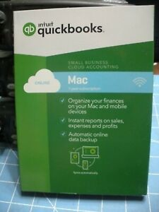 New Factory-Sealed QuickBooks Online Mac 2018 Small Business Cloud Accounting