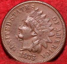 1875 Philadelphia Mint  Indian Head Cent