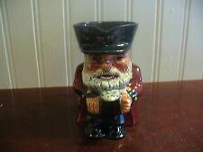 Shorter & Son Staffordshire England Hand Painted Chelsea Pensioner Toby Pitcher