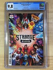 Strange Academy #1 (2020 Marvel Comics) J Scott Campbell Variant CGC 9.8