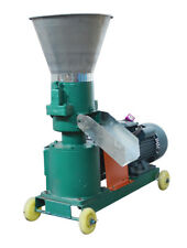 Large Portable Feed Pellet Machine 5mm for Commercial Farm 220V 3Kw Power New