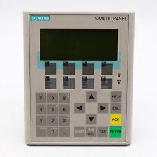 Siemens 6AV6 641-0BA11-0AX0 OPERATOR PANEL OP77A