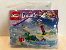 LEGO FRIENDS SNOWBOARD TRICKS 30402 WITH MINIFIGURE 27 PIECES - NEW