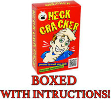 Neck Cracker Magic Trick Bone Cracking Gimmick Comes With Instructions And Boxed