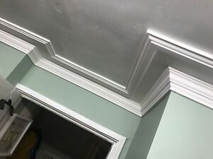 Plaster Coving. Mayfair straight C38. Delivery available. 3m lengths.
