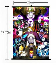 "Hot Japan Anime Game Undertale Cosplay Poster Wall Scroll Home Decor 8""×12"" F887"