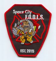 Space City FOOLS Fire Department Patch Texas TX