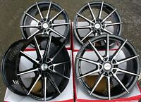 "18"" ALLOY WHEELS FIT FOR PORSCHE MACAN AUDI A4 & A6 ALLROAD AYR 01 VF BP"