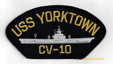USS YORKTOWN CVS-10 CV CVA AIRCRAFT CARRIER US NAVY PATCH NAS PIN UP PILOT WOW
