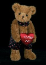 "Bearington Collection 14"" Plush Valentine Bear Carson Nova ""Lover Boy"" #190085"