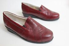 Pediconfort leather lined flat shoes size 4 eu 37